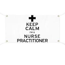 Keep Calm Nurse Practitioner Banner