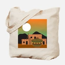 Pueblo Sunrise Tote Bag
