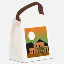 PUEBLO SUNRISE Canvas Lunch Bag