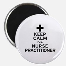 Keep Calm Nurse Practitioner Magnet