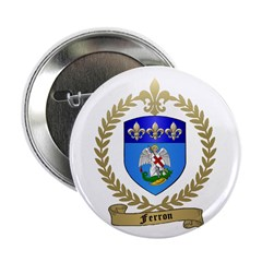 FERRON Family Crest Button