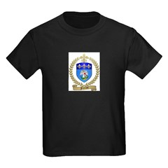 FERRON Family Crest Kids Dark T-Shirt