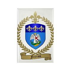FERRON Family Crest Rectangle Magnet (10 pack)