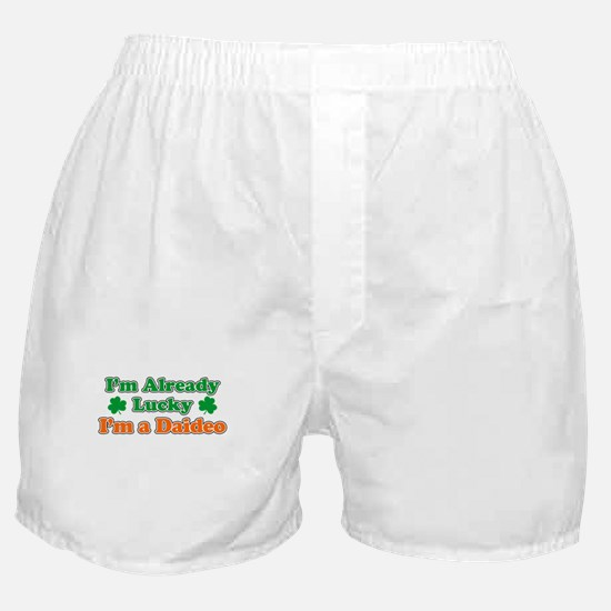 Already Lucky I'm Daideo Boxer Shorts