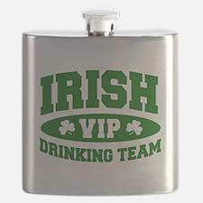 Irish Drinking Team (Green) Flask