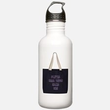 Unique Domestic violence sexual assault support Water Bottle