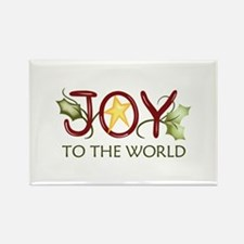 JOY TO THE WORLD Magnets