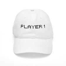 PLAYER 1 8 BIT Baseball Baseball Cap