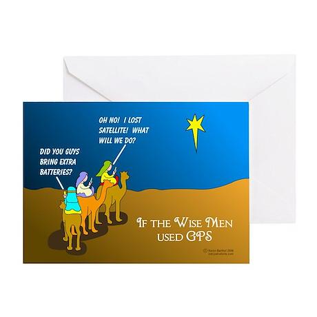 Wise Men Christmas Greeting Card