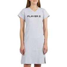 Player 2 8 bit Women's Nightshirt