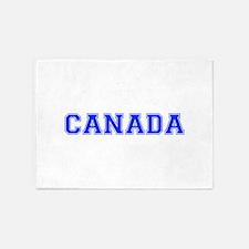 Canada-Var blue 400 5'x7'Area Rug