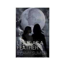 Light as a Feather Rectangle Magnet