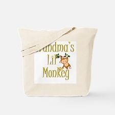 Monkey 3 Tote Bag