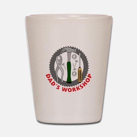 DADS WORKSHOP Shot Glass