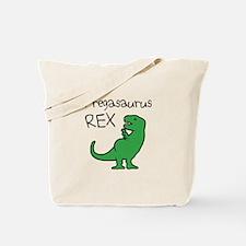 Pregasaurus Rex Tote Bag