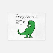 Pregasaurus Rex 5'x7'Area Rug
