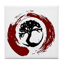 Enso Tree Tile Coaster