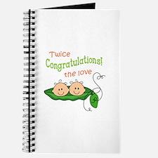 TWICE THE LOVE Journal