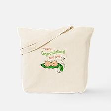 TWICE THE LOVE Tote Bag