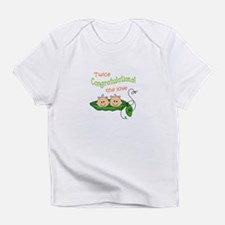 TWICE THE LOVE Infant T-Shirt
