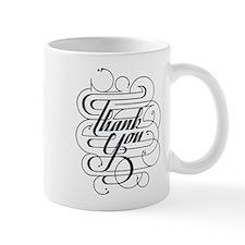 Thank You Calligraphy Mugs