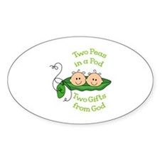 TWO GIFTS FROM GOD Decal