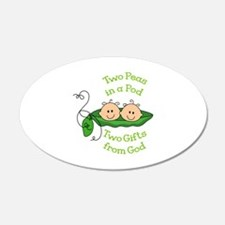 TWO GIFTS FROM GOD Wall Decal