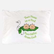 TWO GIFTS FROM GOD Pillow Case