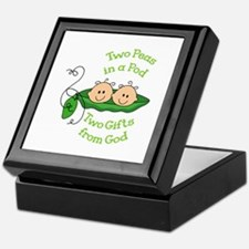 TWO GIFTS FROM GOD Keepsake Box