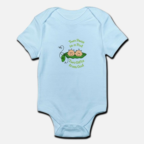 TWO GIFTS FROM GOD Body Suit