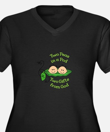 TWO GIFTS FROM GOD Plus Size T-Shirt