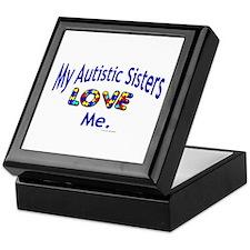 My Autistic Sisters Love Me Keepsake Box