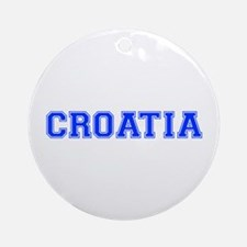 Croatia-Var blue 400 Ornament (Round)