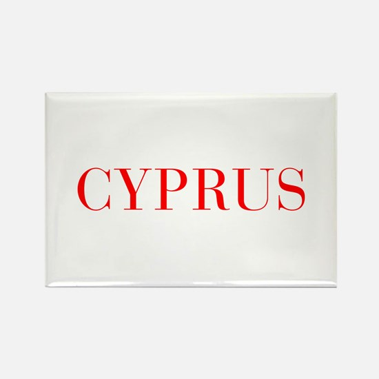 Cyprus-Bau red 400 Magnets