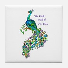 GLORY OF GOD Tile Coaster
