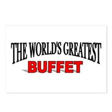 """""""The World's Greatest Buffet"""" Postcards (Package o"""