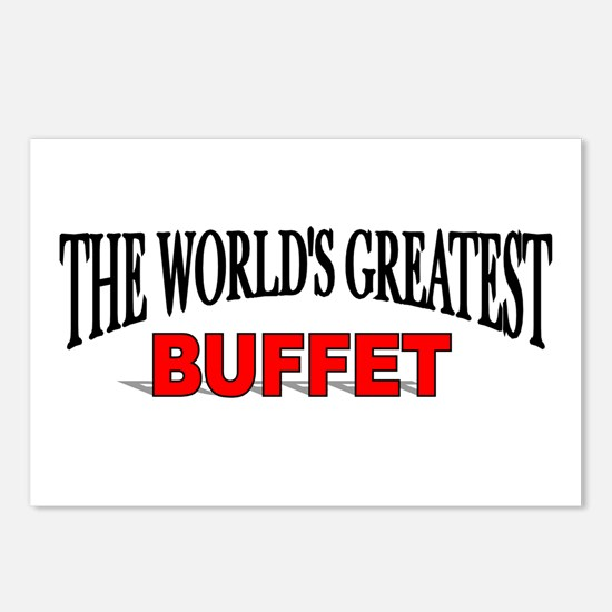 """The World's Greatest Buffet"" Postcards (Package o"