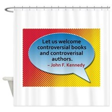 Controversial Books Shower Curtain