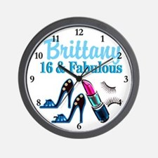 SWEET 16 DIVA Wall Clock