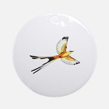 SCISSORTAIL FLYCATCHER Ornament (Round)