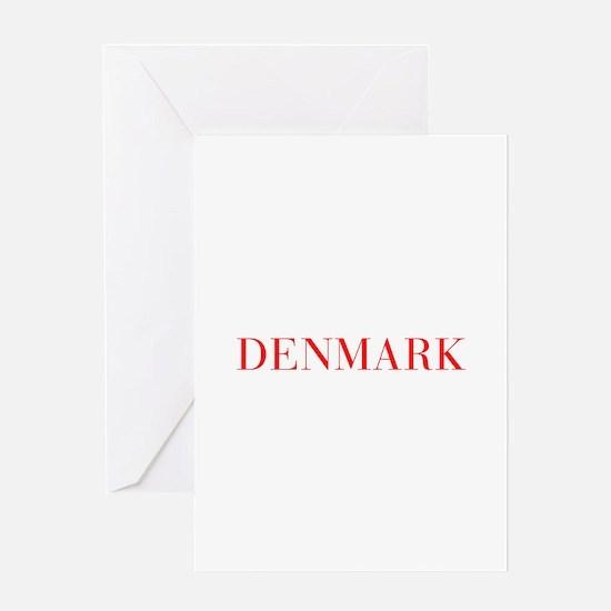 Denmark-Bau red 400 Greeting Cards