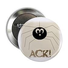 "Ack/eek! Spider 2.25"" Button (10 pack)"