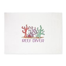 Reef Diver 5'x7'Area Rug