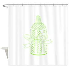 BABY BOTTLE Shower Curtain