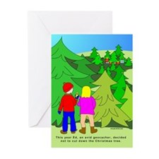 Geocaching Christmas Greeting Cards (Pk of 20)