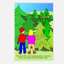 Geocaching Christmas Postcards (Package of 8)