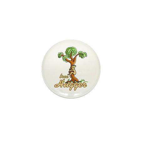 Tree Hugger Mini Button (10 pack)