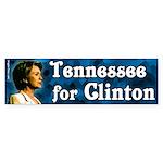 Tennessee for Clinton Bumper Sticker
