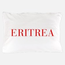 Eritrea-Bau red 400 Pillow Case
