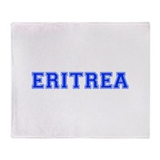 Eritrea-Var blue 400 Throw Blanket